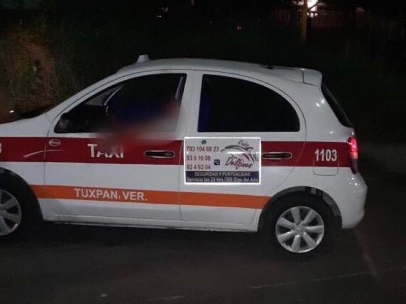 Asesinan a otro taxista en Tuxpan