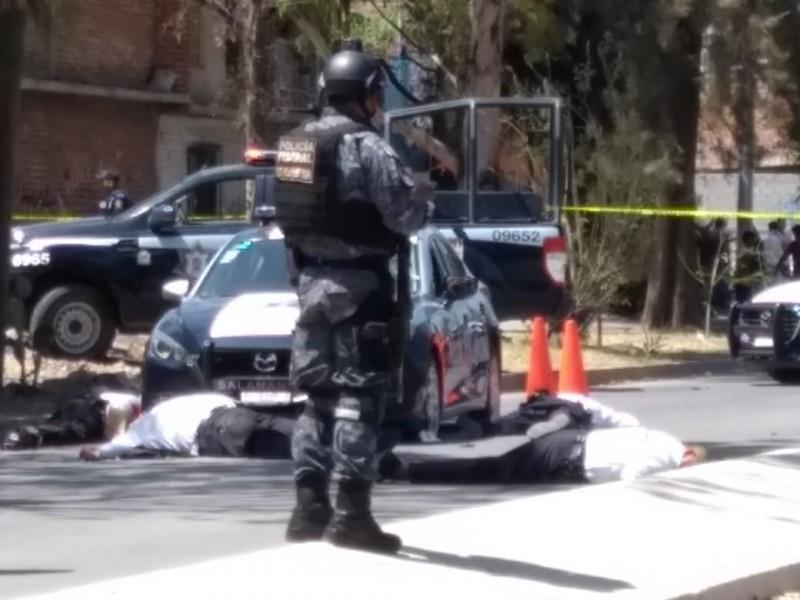 Asesinan a 6 policías en Salamanca