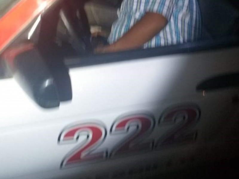 Asesinan taxista en el municipio de Fresnillo