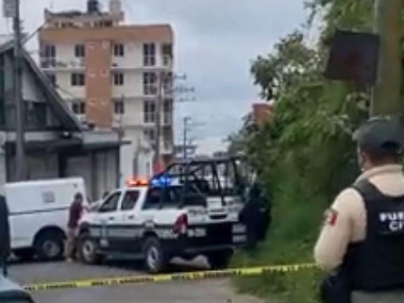 Asesinan a un hombre en la colonia Progreso de Xalapa