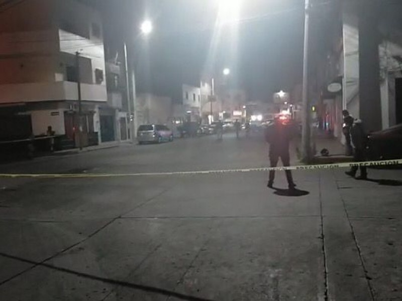 Se registra ataque armado en el centro de Fresnillo