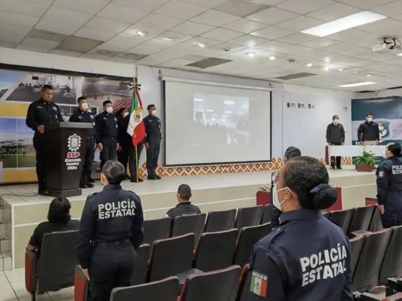 Así capacitaron a estos policías de Veracruz