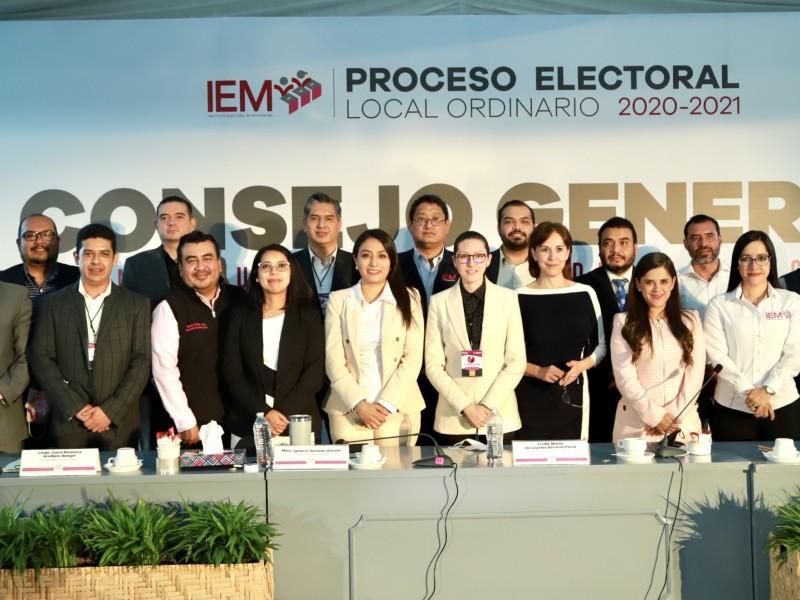 Asigna IEM diputaciones de Representación Proporcional al Congreso de Michoacán