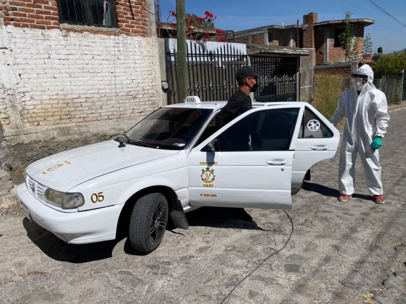 Asociación Civil de Charo brinda servicio de sanitización gratuito
