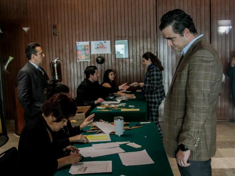 Aspirantes a consejeros del INE presentan exámenes en San Lázaro