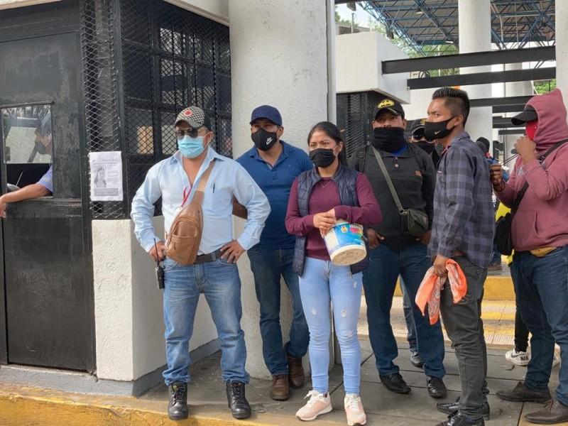 Aspirantes a normalistas toman caseta de peaje Tuxtla Gutiérrez- SCLC