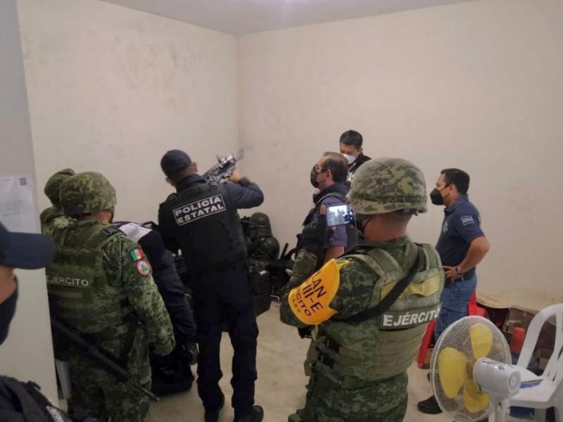 Asume SSP control de la policía municipal de Tihuatlán