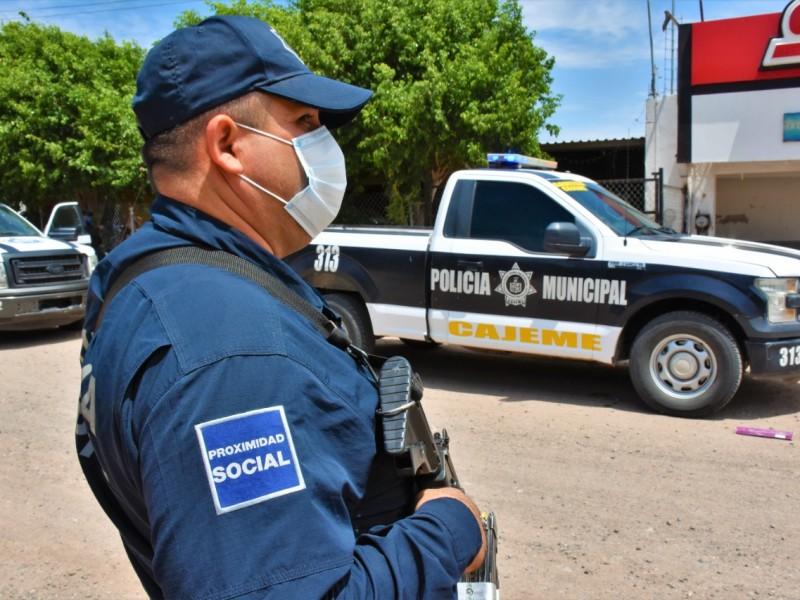 Ataca Covid-19 a agentes de la Policía Municipal
