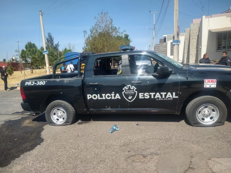Atacan a estatales en Tepatitlán; hay un policía muerto