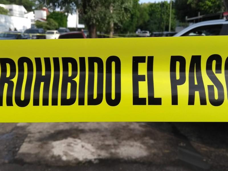 Matan a dos en la Heliodoro Hernández