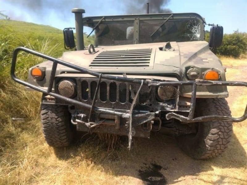 Atacan a militares en Michoacán; hay heridos