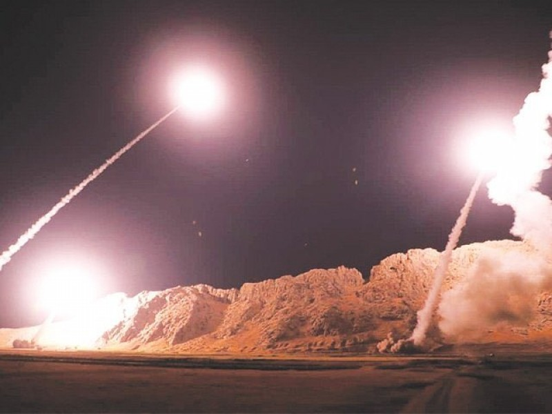 Atacan bases militares de EU en Irak