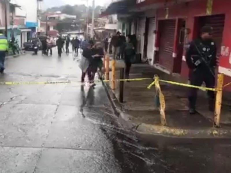 Atacan negocio en Uruapan, hay 8 muertos