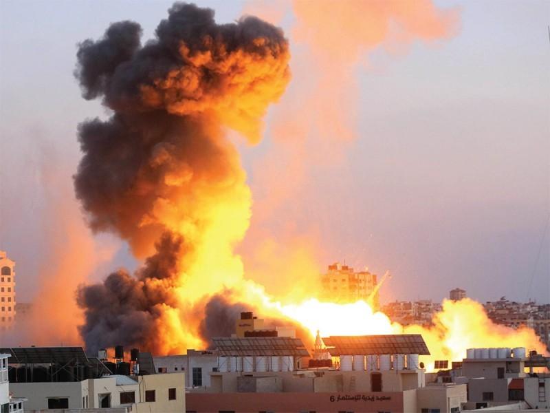Atacan red de túneles en la franja de Gaza
