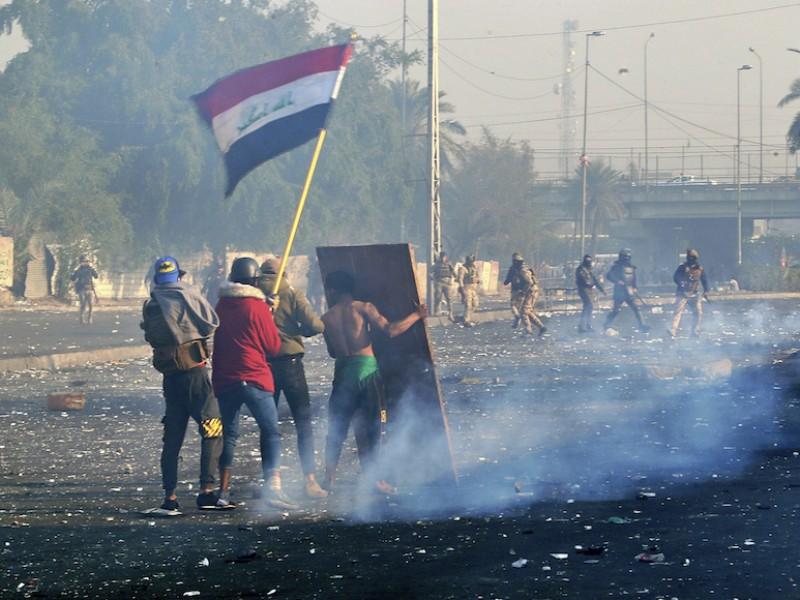 Ataque con cohetes en Bagdad alcanza embajada EU