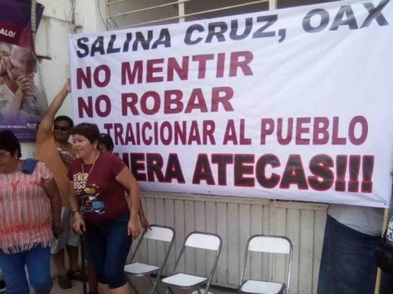 Atecas desvía erario de Salina Cruz afirman concejales