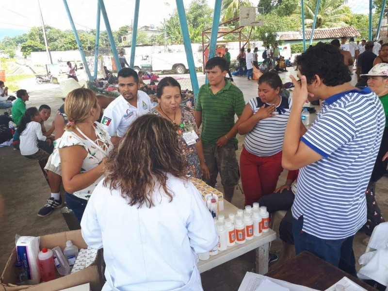 Atención médica a migrantes garantizada:SS