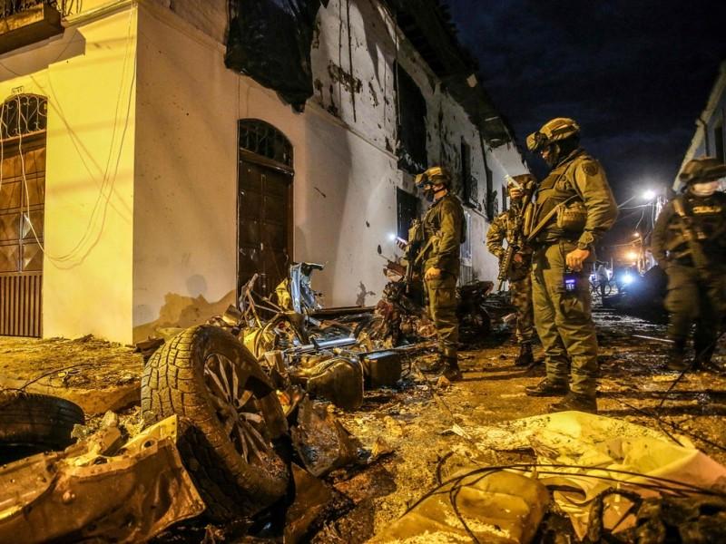 Atentado deja 43 heridos en Colombia
