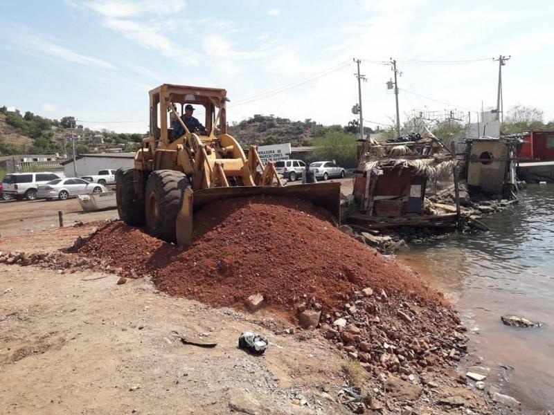 Atiende Ayuntamiento solicitud de rampa de pescadores de Punta Arena
