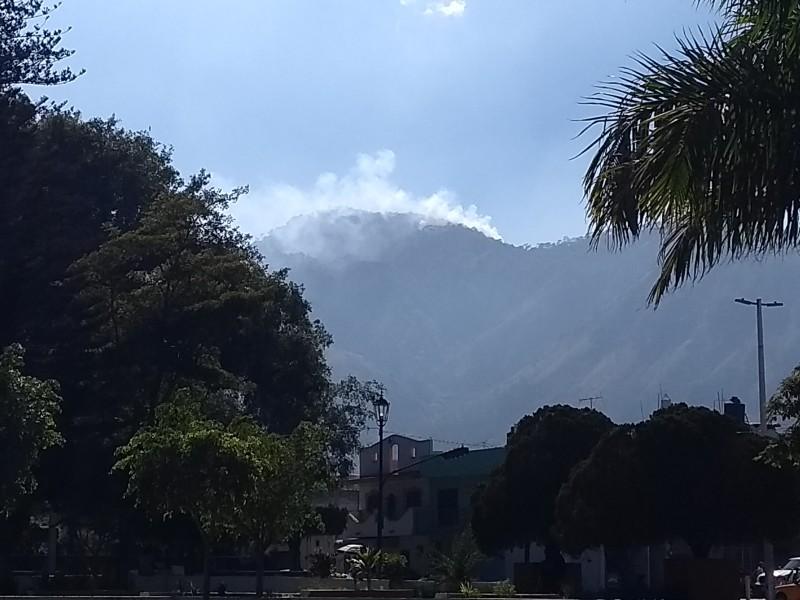 Atiende COFONAY primer incendio en el San Juan