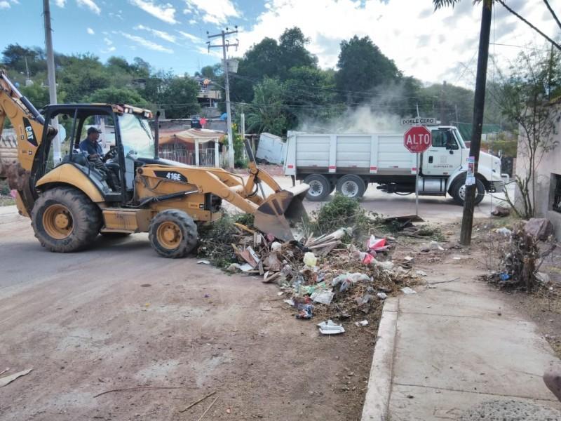 Atiende Rutas Urbanas llamado de vecinos de la Yucatán