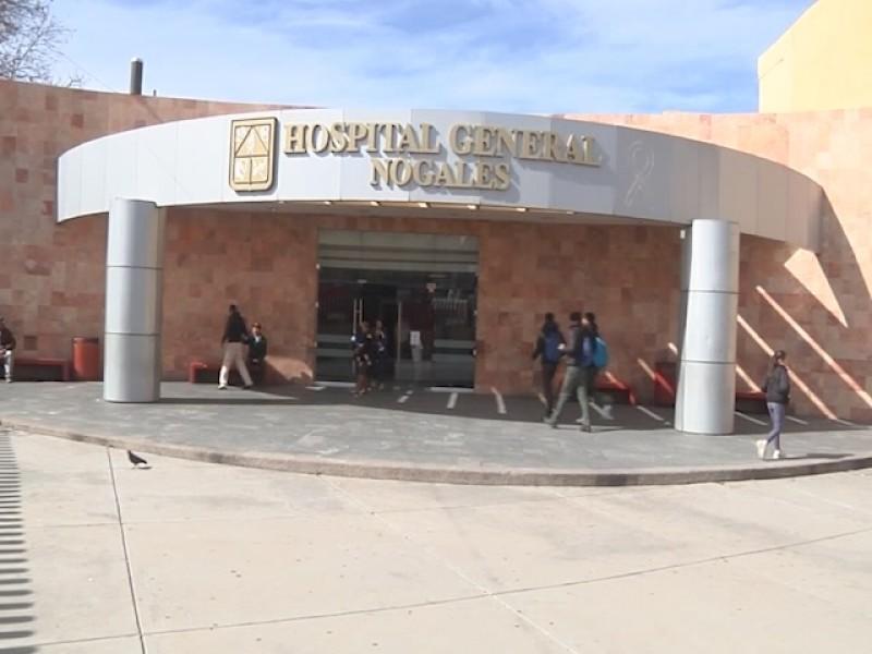 Atienden caso de Covid-19 en hospital general de Nogales