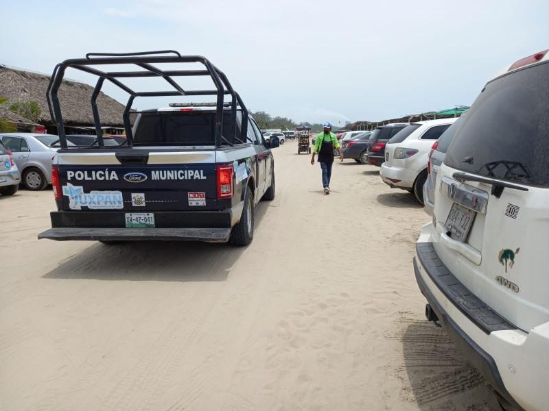 Atienden casos de niños extraviados en playas de Tuxpan