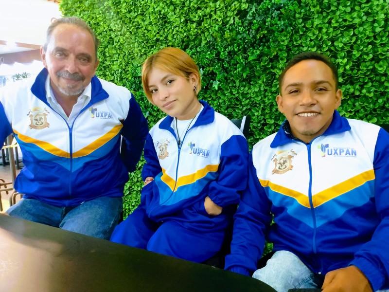 Atletas tuxpeños presentes en la Paranacional Cancún 2021