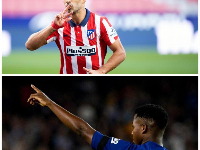 Atlético y Barcelona mostraron sus armas en La Liga