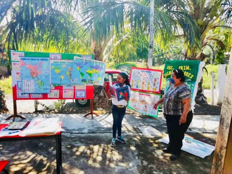 Aulas rodantes siguen vigentes en Tuxpan