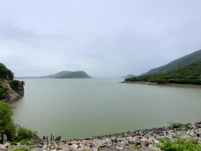 Aumenta 13.6% nivel de la presa Benito Juárez por lluvias