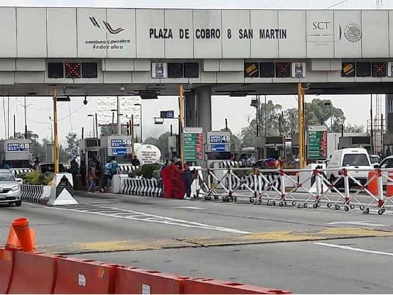 Aumenta 3% el precio de las casetas México-Puebla y Puebla-Acatzingo