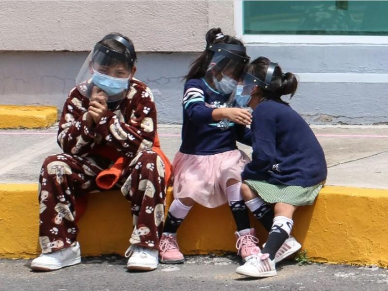 Aumenta 40% los contagios covid en niños de Morelos