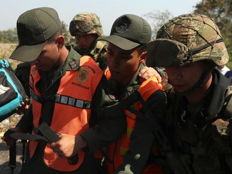 Aumenta a 326 militares venezolanos que han desertado