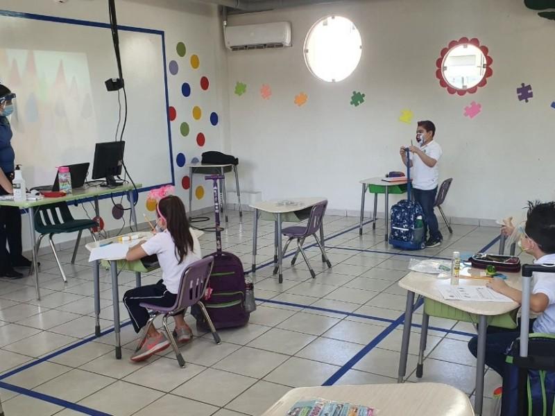 Aumenta aforo de estudiantes en escuelas de Sonora