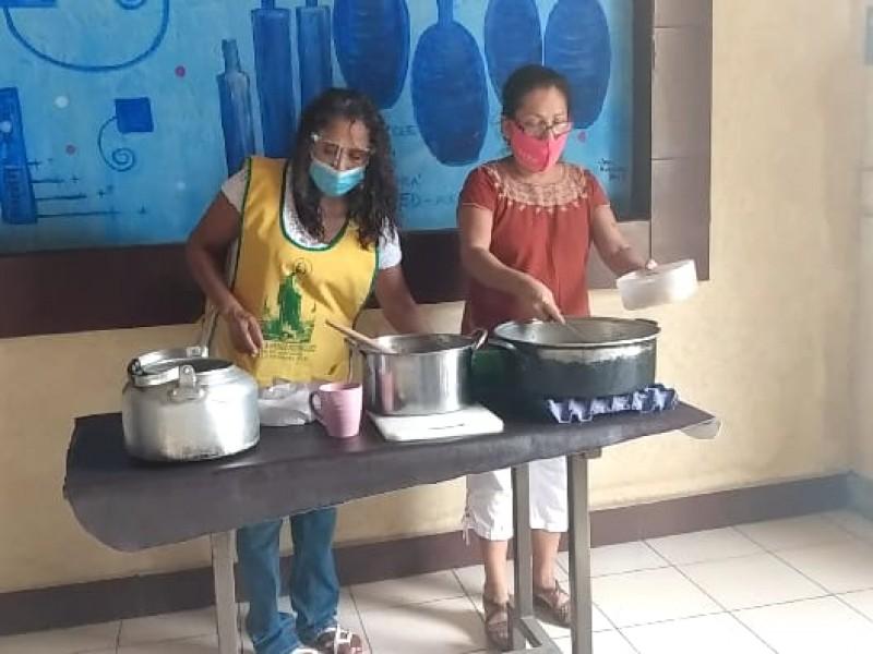 Por pandemia aumenta asistencia en comedores comunitarios