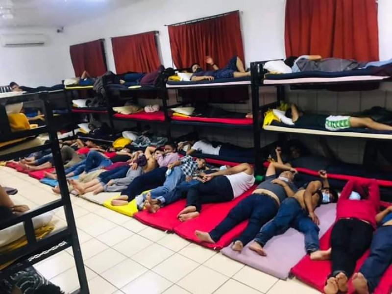Aumenta asistencia a personas migrantes en albergue San Juan Bosco