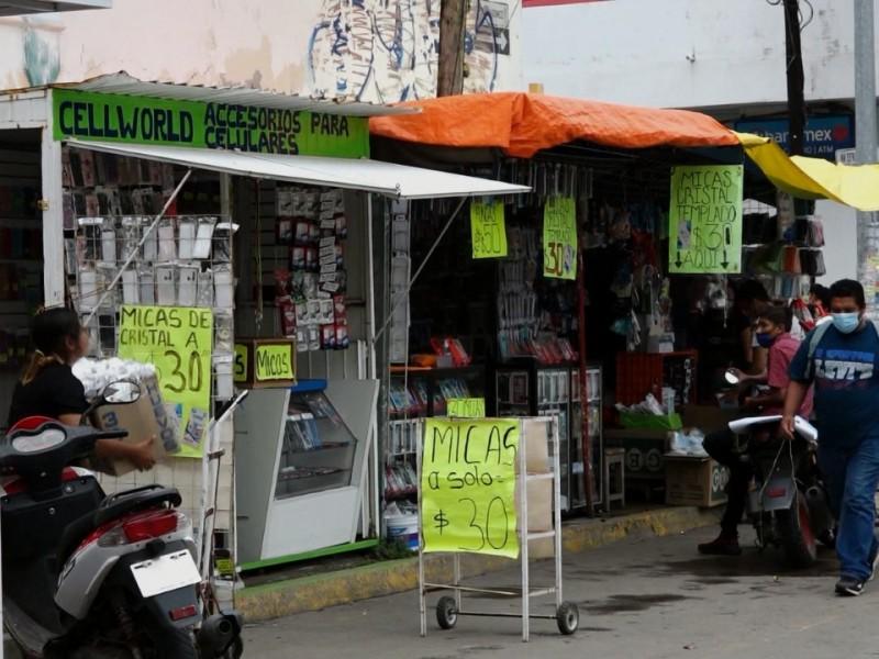 Aumenta comercio informal durante pandemia: CANACINTRA