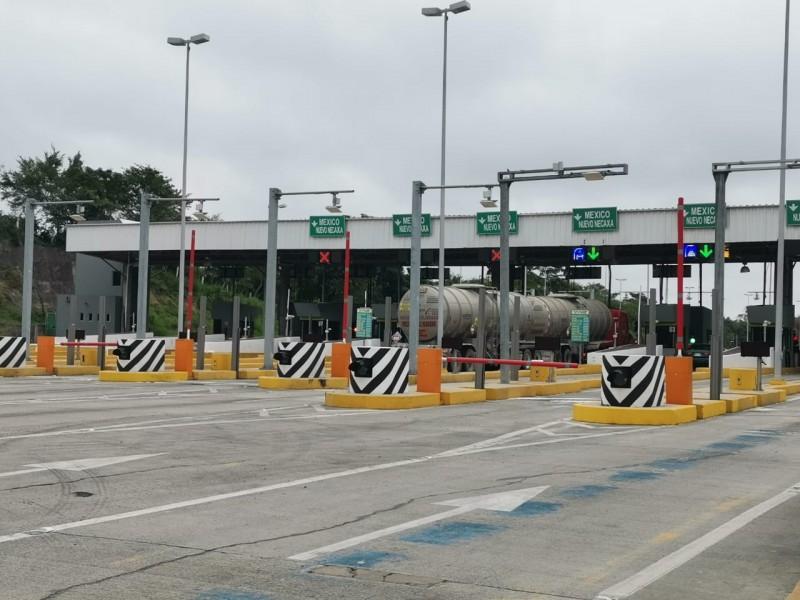 Aumenta cuota en caseta de Puente Tuxpan