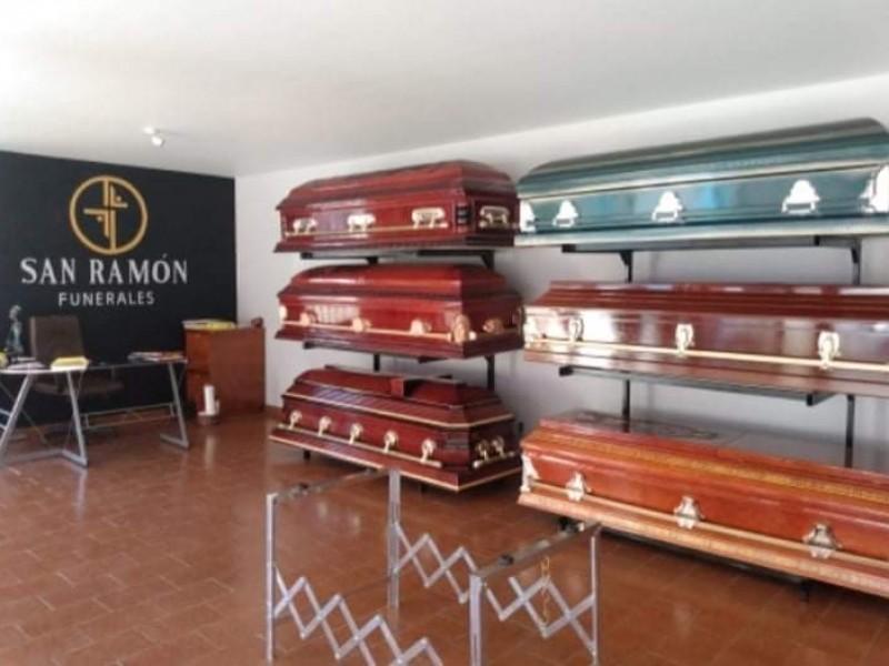 Aumenta demanda de servicios funerarios y cremaciones por COVID-19