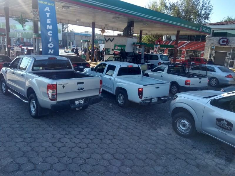 Aumenta desabasto de gasolina en ZMG