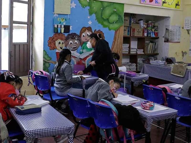 Aumenta el número de alumnos en clases híbridas