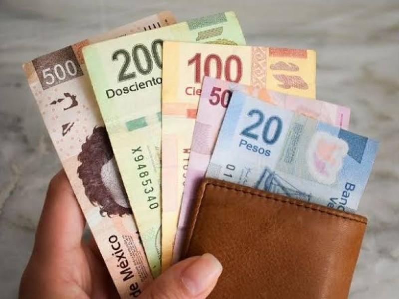 Aumenta el salario mínimo a 123.22 pesos diarios