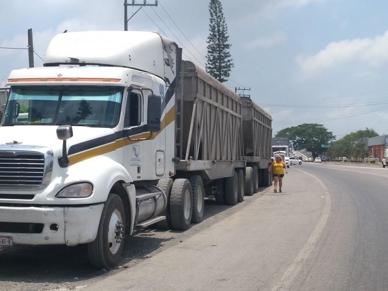 Aumenta en Veracruz robo a transportistas