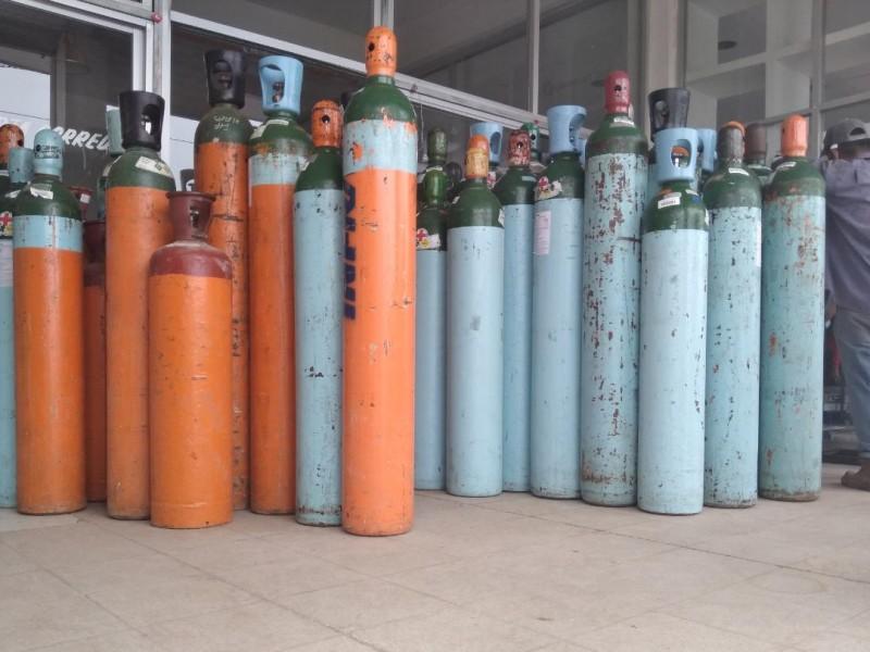Hasta un 50% incrementa la compra de tanques de oxígeno