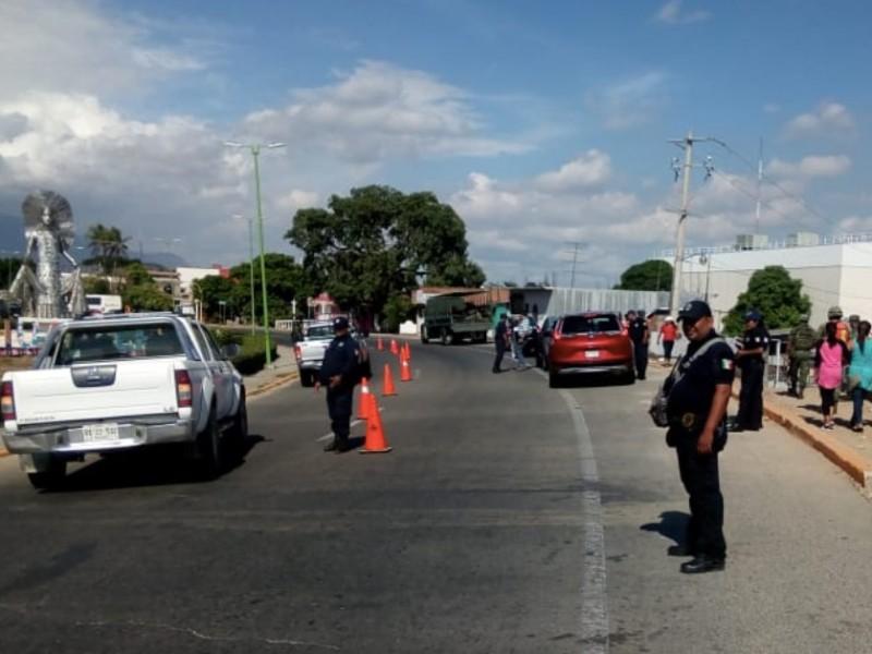 Aumenta presencia de corporaciones de seguridad en Tehuantepec