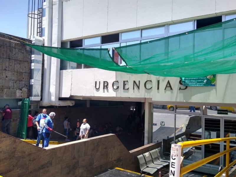 Aumenta presencia de pacientes covid en Hospital Ayala