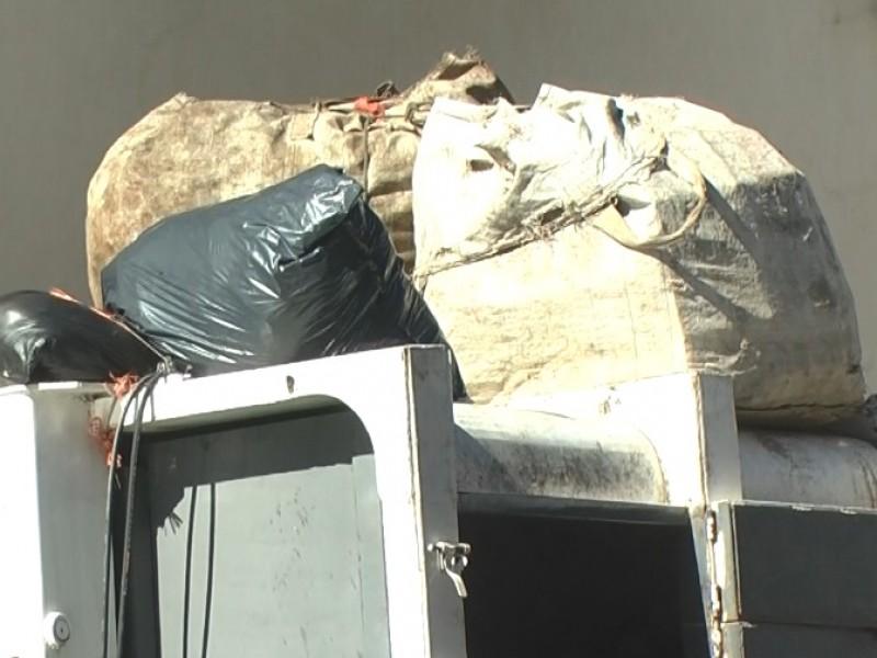 Aumenta recolección de basura hasta 20% en diciembre