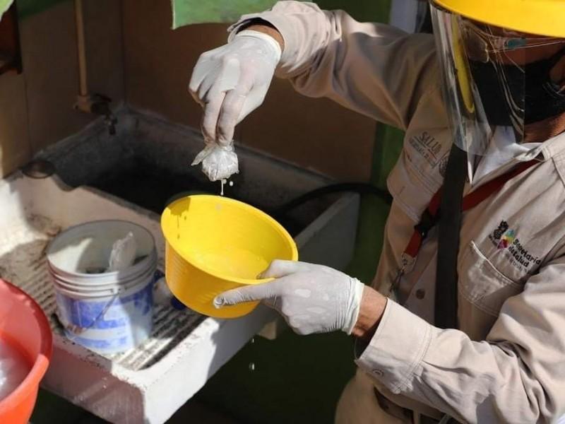 Aumenta riesgo epidemiológico de dengue por temporada de lluvias