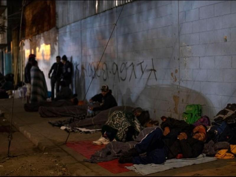 Aumenta tensión en Tijuana por arribo de migrantes
